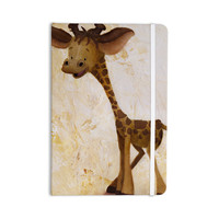 "Rachel Kokko ""Georgey The Giraffe"" Brown Tan Everything Notebook"