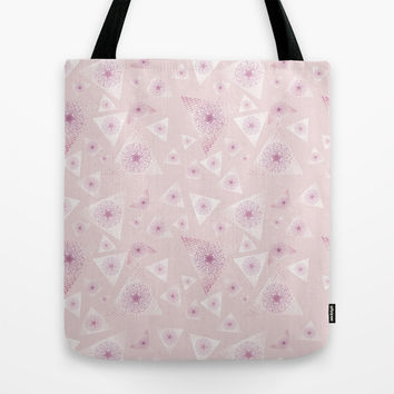 Pyramid III Tote Bag by MJ Mor