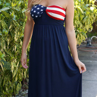 The Patriot Maxi Dress