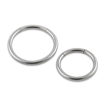 New Arrival  Surgical Steel Segment Ring Nose Rings Captive Ring  Body Piercing Jewelry  Septum Clicker On Jewelry Free shipping
