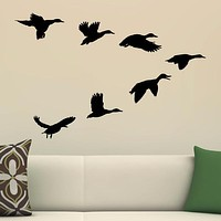 Ducks In A V Wall Decal