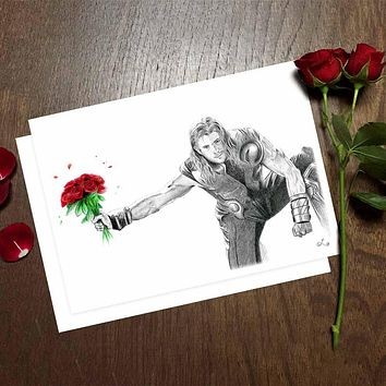 Romantic Thor Card