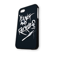 young and reckless Art Logo iPhone 5/5S Case