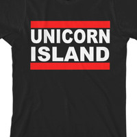 Unicorn Island Tee - IISuperwomanII - Official Online Store on District LinesDistrict Lines