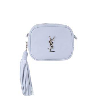 SAINT LAURENT YSL Nappa Monogram Blogger Bag Sugar Paper Blue 425317