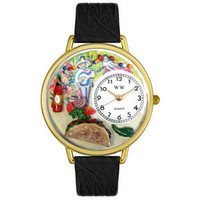 Taco Lover Watch in Gold (Large)