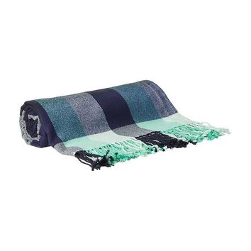Old Navy Patterned Blankets Size One Size - Mint plaid