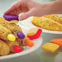 Butter Buttons & Corn Cob Holders @ Fresh Finds