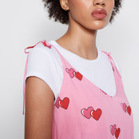 Lazy Oaf Double Heart Cami Top - Everything - Categories - Womens