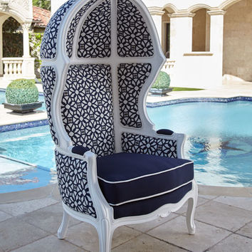 Outdoor Dome Chair and Matching Items