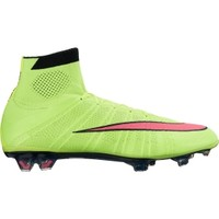 Nike Men's Mercurial Superfly FG Soccer Cleats - Volt/Pink | DICK'S Sporting Goods
