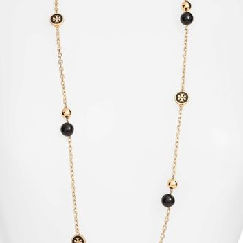 Tory Burch Logo Station Necklace | Nordstrom