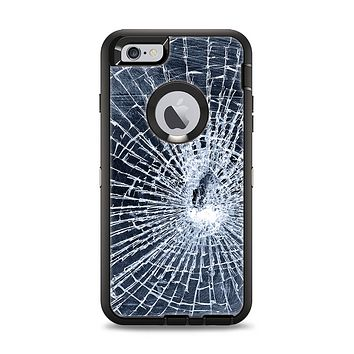 The Shattered Glass Apple iPhone 6 Plus Otterbox Defender Case Skin Set