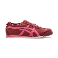 Onitsuka Tiger Mexico 66 Sneaker in Burgundy