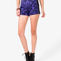 Abstract Damask Shorts | FOREVER 21 - 2040494939