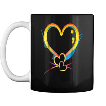 Mental Heath And heart Mug