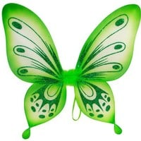 Green Sparkling Fairy Princess Wings
