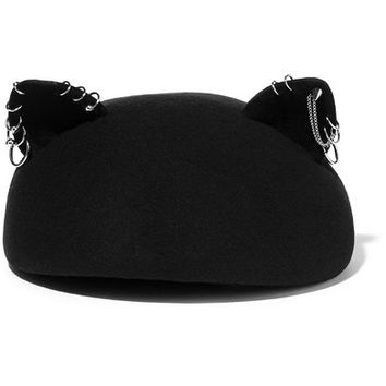 Eugenia Kim - Caterina embellished wool-felt hat