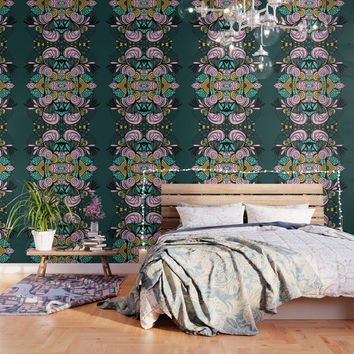 Ornamental Wallpaper by duckyb