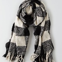 AEO Women's Heritage Plaid Blanket Scarf