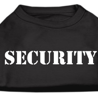 Security Screen Print Shirts Black 5X (24)