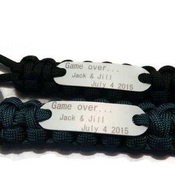 Game Over Wedding Party Favors, Gifts for gamers, Geek wedding party favors