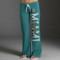 Miami Dolphins Women's Aqua '47 Brand Pep Rally Pants