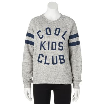 Mighty Fine ''Cool Kids Club'' Sweatshirt - Juniors, Size: