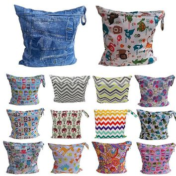 Kacakid Chic Useful Paper Reusable Baby Cloth Diaper Nappy ^bd