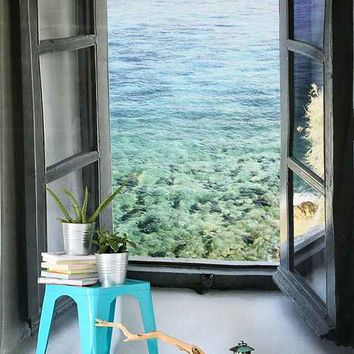 Ocean View Tapestry- Blue One