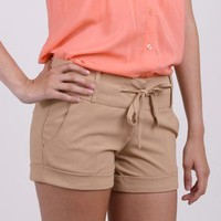 Warm Weather Dreaming Cuffed Shorts by Ezra @ FrockCandy.com