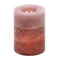 Rustic Wood Spice Led Candle