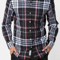 Men's 7 Diamonds 'Harrington' Trim Fit Plaid Woven Shirt,