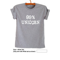 Unicorn Shirt Graphic Tee Womens Funny Tees T Shirts for Men Tops Tumblr T Shirt Cute Cool Printed TShirt Teen Girl Gifts Clothes Instagram