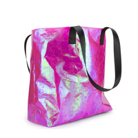 Iridescent Pink Shopper Bag