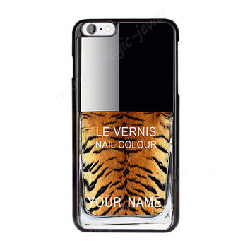Cover,Case for iPhone,iPod,Samsung,Sony,  Nail Polish, Girly Make Up, Personalized covers, tiger pattern