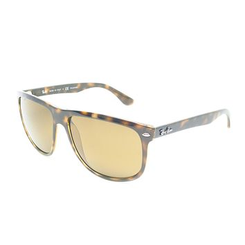 Ray-Ban RB 4147 710/57 Light Havana Polarized Sunglasses