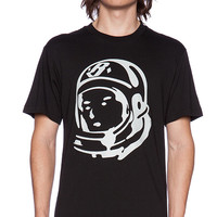 Billionaire Boys Club Classic Helmet Head Tee in Black & White