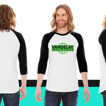 Vandelay Industries American Apparel Unisex 3/4 Sleeve T-Shirt