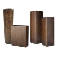 Threshold™ Wood Vase Collection