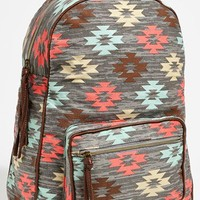 Lulu Print Canvas Backpack | Nordstrom