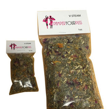 Sonia's YONI STEAM Herbal Blend  4 (2x3) Bag Kit Bajos Vaginal Steam Bath Blend