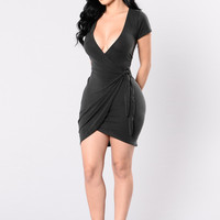 Rum Girl Dress - Black
