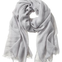 Banana Republic Rina Scarf Size One Size - Sidewalk gray