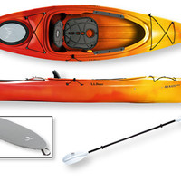 Manatee Deluxe Kayak Package: Recreational at L.L.Bean