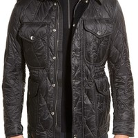 Burberry Brit 'Garrington' Quilted Field Jacket | Nordstrom