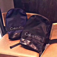 ONETOW Calvin Klein Jeans/CK 2017 new men and women leisure backpack