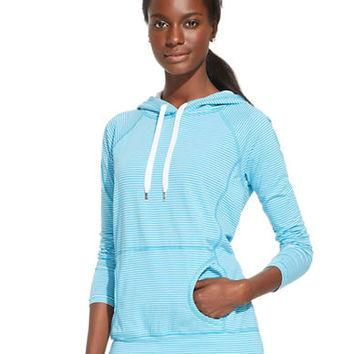 Lauren Ralph Lauren Striped Hoodie Top