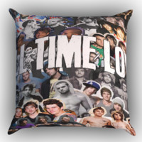All Time Low college Zippered Pillows  Covers 16x16, 18x18, 20x20 Inches