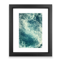 Society6 Water I Framed Print